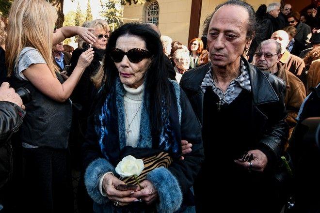 Η κηδεία του ηθοποιού Φαίδωνα Γεωργίτση