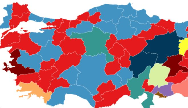 Τουρκία: Πόσες περιφέρειες της έχουν ελληνικό όνομα