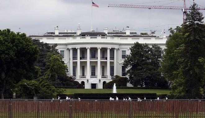 Το κτίριο του Λευκού Οίκου στην Ουάσινγκτον