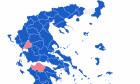 Αποτελέσματα εκλογών 2019: Ο χάρτης της Ελλάδας στο 75% της ενσωμάτωσης
