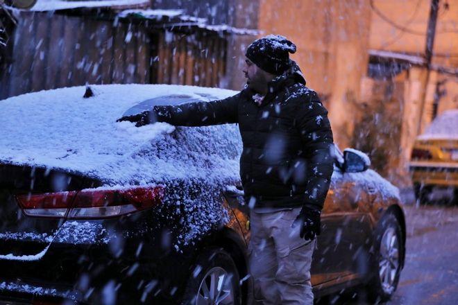 Η Βαγδάτη ξύπνησε καλυμμένη στο χιόνι