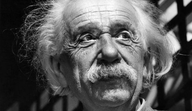 Ο Άλμπερτ Αϊνστάιν το 1954
