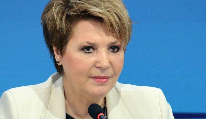 Η υπουργός Διοικητικής Ανασυγκρότησης, Όλγα Γεροβασίλη