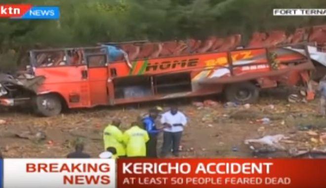 Κένυα: Στους 51 οι νεκροί από το τροχαίο δυστύχημα με το λεωφορείο