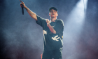 Ο ραπερ Logic σε συναυλία του