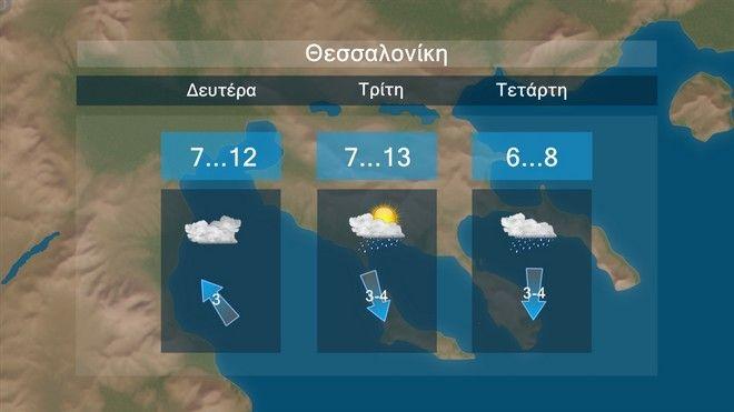 Καιρός: Χειμώνας με πτώση θερμοκρασίας έως 10 βαθμούς και χιόνια