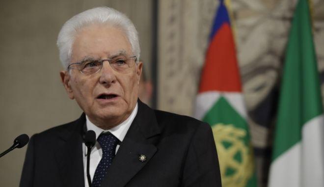 Ο Σέρτζιο Ματαρέλα.