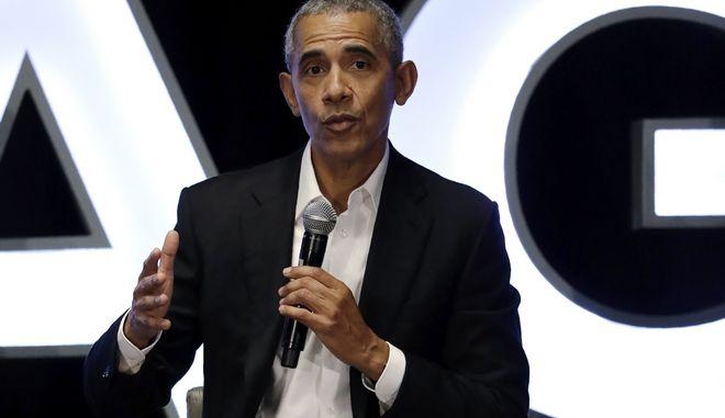 Ο Μπαράκ Ομπάμα . Φωτό αρχείου.