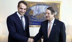 Μητσοτάκης σε Αναστασιάδη: Η Κύπρος είναι παράδειγμα προς μίμηση