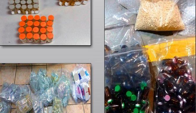 """Επιχείρηση """"Viribus"""": Κατασχέθηκαν 3,8 εκατομμύρια παράνομες - επικίνδυνες ουσίες ντόπινγκ"""