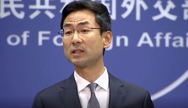 Γκενγκ Σουάνγκ, εκπρόσωπος του υπουργείου Εξωτερικών της Κίνας