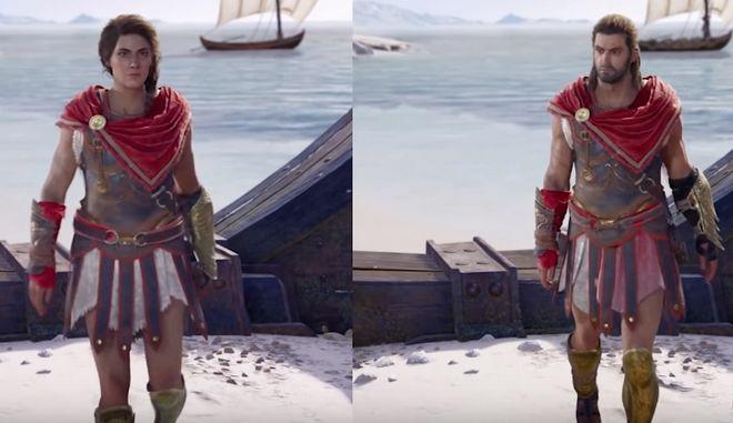 Assassin's Creed Odyssey με Έλληνες ηθοποιούς