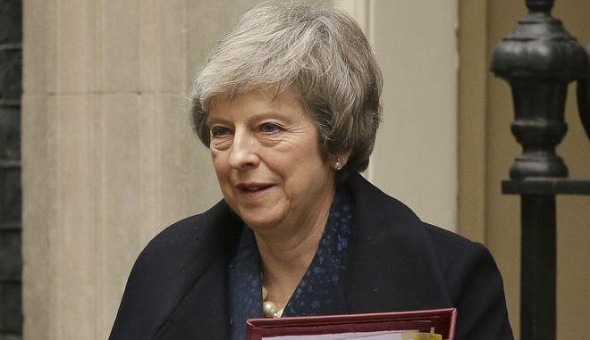 Η βρετανίδα πρωθυπουργός Theresa May