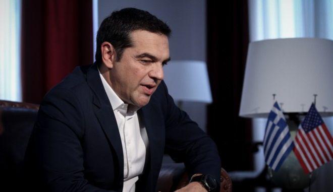 Ο πρωθυπουργός, Αλέξης Τσίπρας, στην 83η ΔΕΘ