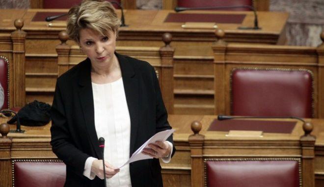 Συζήτηση επίκαιρων ερωτήσεων στην Βουλή, την Πέμπτη 30 μαρτίου 2017. (EUROKINISSI/ΓΙΩΡΓΟΣ ΚΟΝΤΑΡΙΝΗΣ)