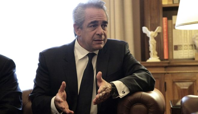 Ο Κωνσταντίνος Μίχαλος, πρόεδρος του ΕΒΕΑ