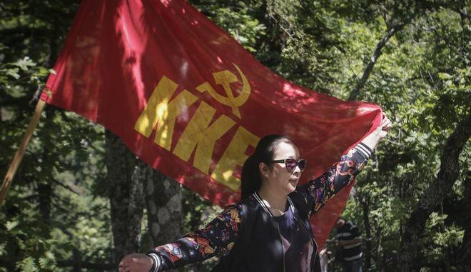 Σημαία του κομμουνιστικού κόμματος
