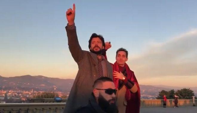 La Casa De Papel: Πανικός στη Φλωρεντία για τα γυρίσματα του τρίτου κύκλου - Κι ήταν όλοι εκεί