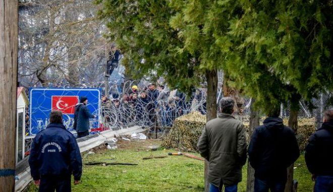 Έβρος το τελωνείο στις Καστανιές,Σάββατο 29 Φεβρουαρίου 2020 (EUROKINISSI/ ΓΙΑΝΝΗΣ ΤΟΜΑΔΑΚΗΣ/ thrakinea.gr)