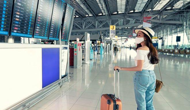 Ταξίδι με αεροπλάνο την εποχή της πανδημίας