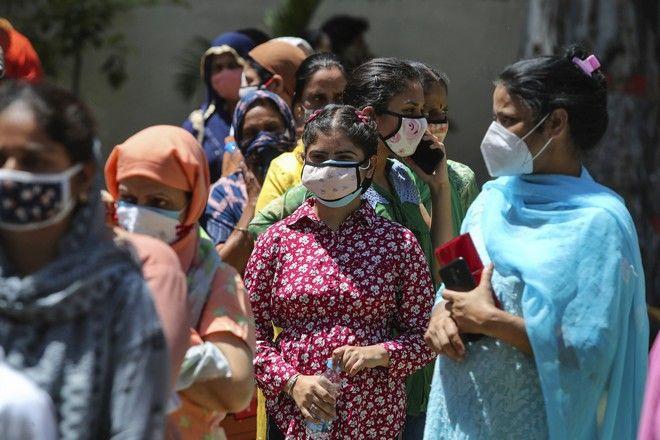 Τεστ για τον κορονοϊό στην Ινδία