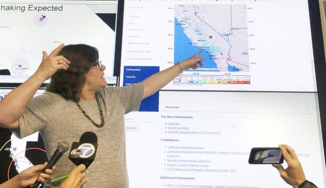 Ισχυρός σεισμός 6,9 Ρίχτερ στην Καλιφόρνια