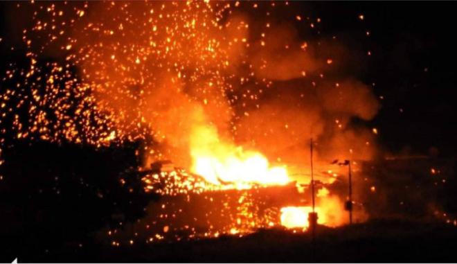 Εκρήξεις σε αποθήκη πυρομαχικών στα κατεχόμενα, υπάρχουν τραυματίες