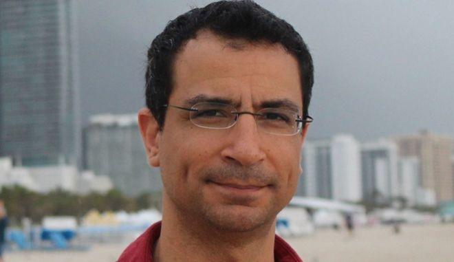 Ο δημοσιογράφος Ιάσων Πιπίνης.