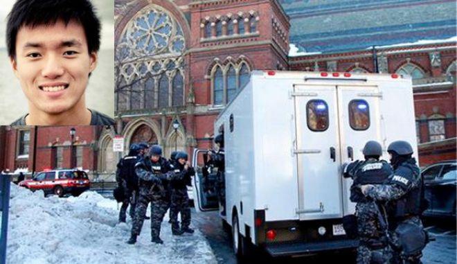 Συνελήφθη ο φοιτητής που απειλούσε για βόμβα στο Χάρβαρντ για να γλιτώσει τις εξετάσεις