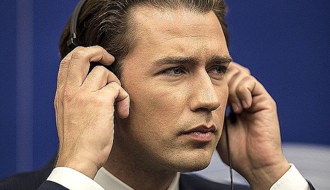 Ο Καγκελάριος της Αυστρίας Σεμπάστιαν Κουρτς