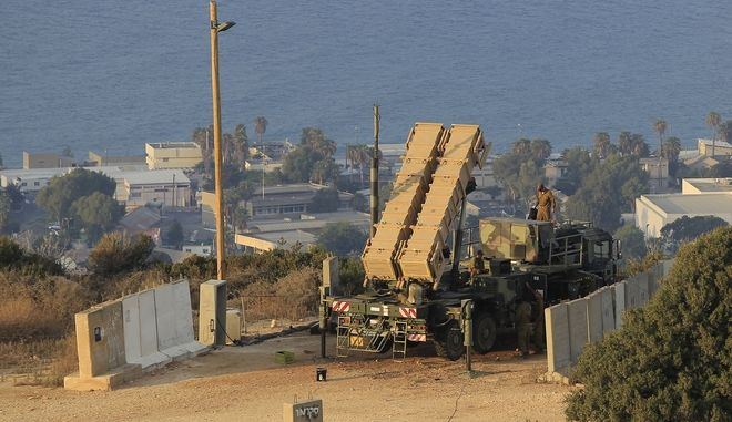 Ισραηλινοί πύραυλοι Patriot