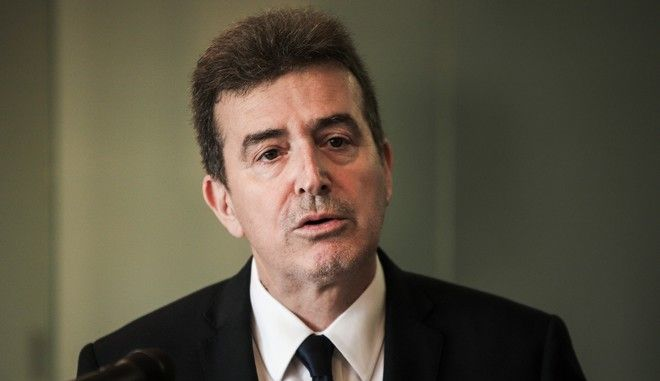 O υπουργός Προστασίας του Πολίτη Μιχάλης Χρυσοχοΐδης