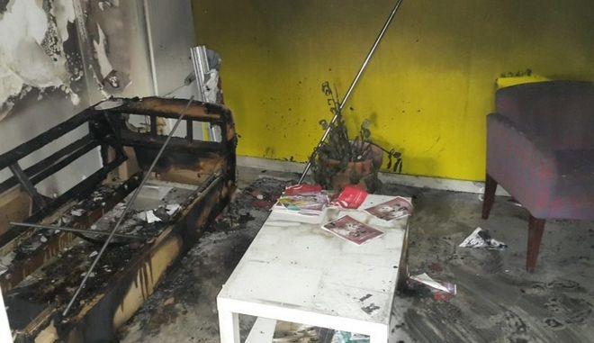 Εμπρηστική επίθεση στο κτίριο των Κέντρων Πρόληψης και Εξέτασης Checkpoint