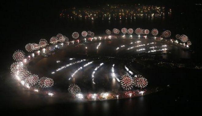 Ρεκόρ πυροτεχνημάτων στο Ντουμπάι