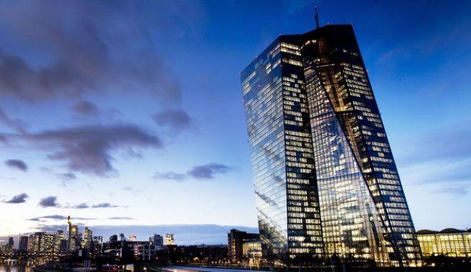 Φωτό αρχείου: Η Ευρωπαϊκή Κεντρική Τράπεζα