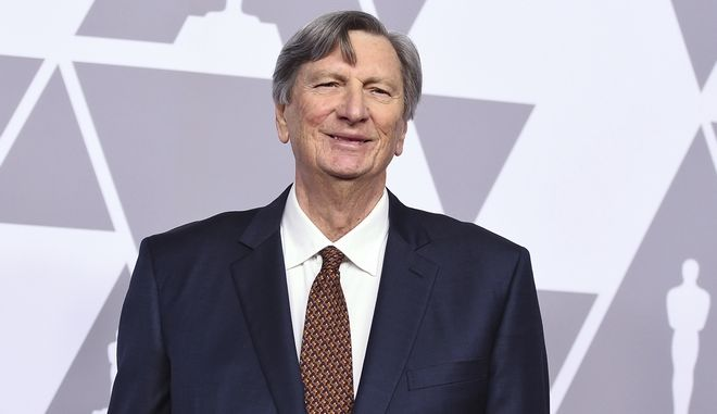 John Bailey arrives at the 90th Academy Awards Nominees Luncheon at The Beverly Hilton hotel on Monday, Feb. 5, 2018, in Beverly Hills, Calif. (Photo by Jordan Strauss/Invision/AP)