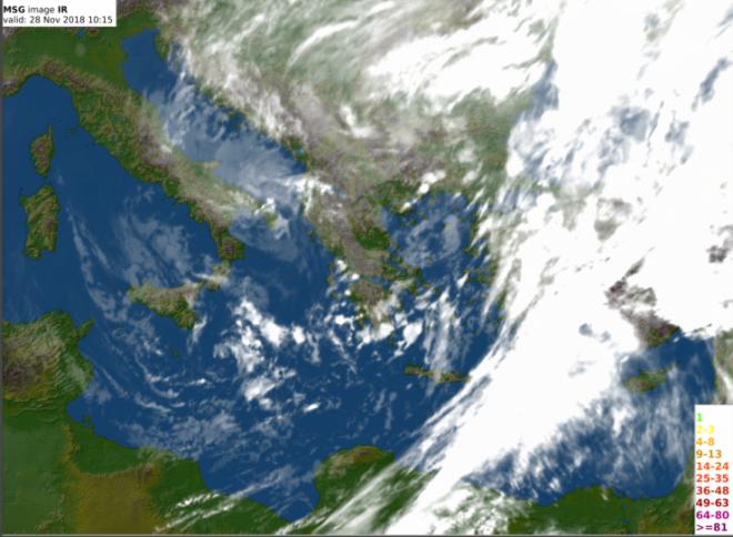 Φωτογραφία δορυφόρου 28/1000UTC