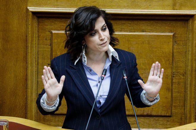 Η βουλευτής του ΣΥΡΙΖΑ, Ραλία Χρηστίδου