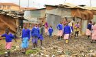 Μαθητές στην Κένυα.
