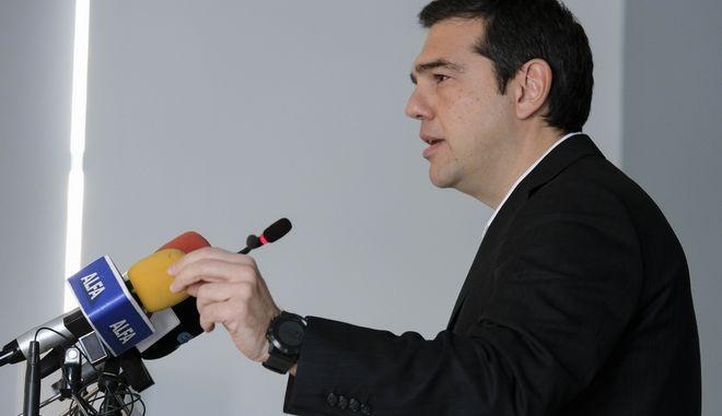 Ο πρωθυπουργός, Αλέξης Τσίπρας, στη Σαμοθράκη
