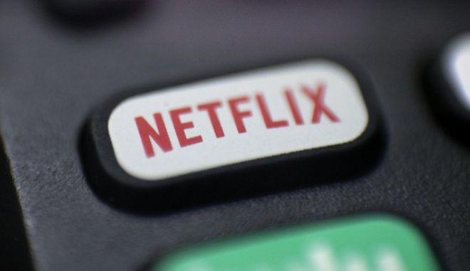 Το λογότυπο του Netflix σε τηλεκοντρόλ