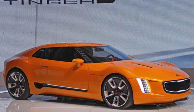 Το GT4 Stinger Concept της ΚΙΑ κλέβει καρδιές στο Ντιτρόιτ