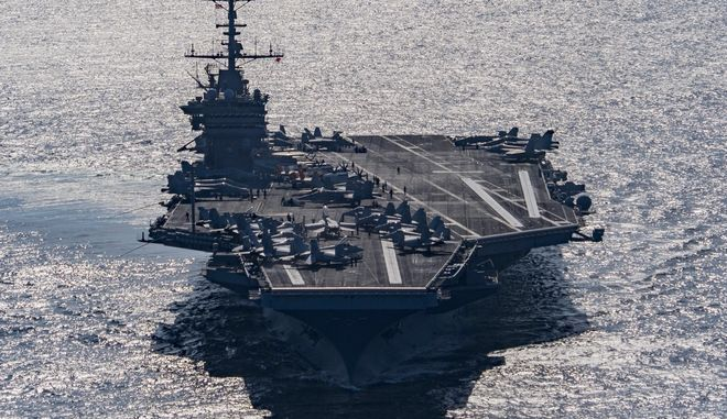 Στη Μεσόγειο το αμερικανικό αεροπλανοφόρο USS Harry S Truman