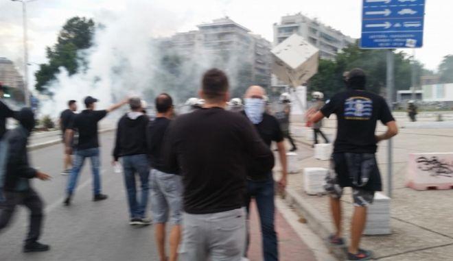 Θεσσαλονίκη: Πέντε συλλήψεις για τα χθεσινά επεισόδια