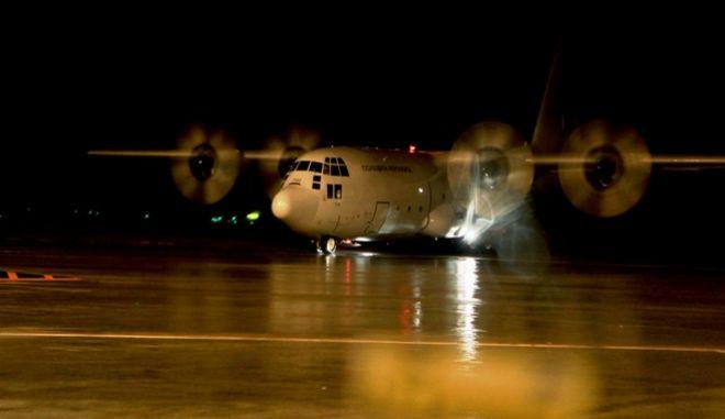 Μεταγωγικό αεροσκάφος C-130 της Π.Α.