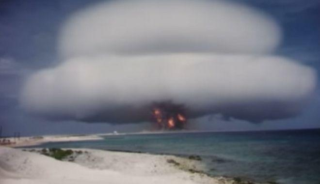 Αρμαγεδδών: Στη δημοσιότητα βίντεο από τις πρώιμες πυρηνικές δοκιμές των ΗΠΑ