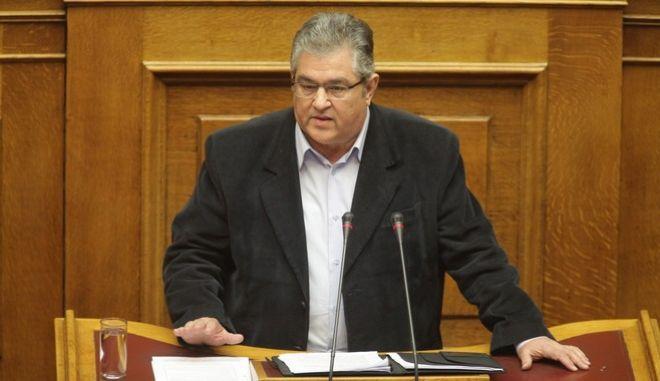 ΒΟΥΛΗ - Συζήτηση προ Ημερησίας Διατάξεως, σύμφωνα με το άρθρο 143 του Κανονισμού της Βουλής, με πρωτοβουλία του Πρωθυπουργού Αλέξη Τσίπρα, σε επίπεδο Αρχηγών Κομμάτων, σχετικά με τη μεταρρύθμιση του ασφαλιστικού συστήματος της χώρας, Τρίτη 26 Ιανουαρίου 2016.  (EUROKINISSI/ΓΙΑΝΝΗΣ ΠΑΝΑΓΟΠΟΥΛΟΣ)