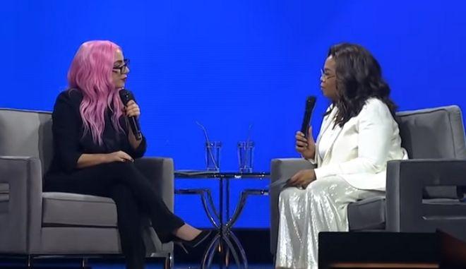 Η Lady Gaga μιλά στην Oprah Winfrey