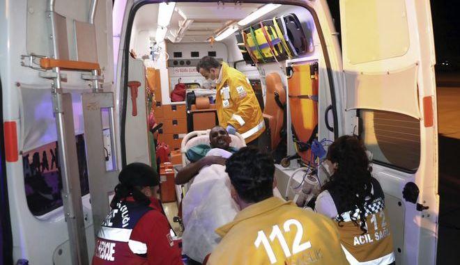Ασθενοφόρο στην Τουρκία