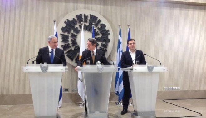 Ελλάδα, Κύπρος και Ισράηλ 'χτίζουν' ενεργειακή γέφυρα